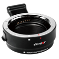 Professional Viltrox EF-EOS M Metal Electronic Auto Focus Lens Adapter For for EF EF-S Lens to EF-M for EOS M camera