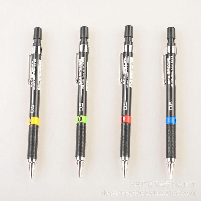 0.5/0.7mm Student Mechanical pencil For kids Sketch drawing School Supplies Stationery