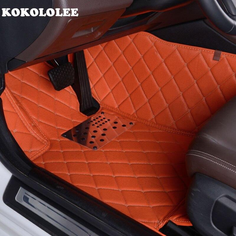 KOKOLOLEE Personnalisé plancher de la voiture tapis pour Chevrolet Cruze Captiva Sonic Voile Spark Aveo Blazer epica voiture-styling auto tapis doublures