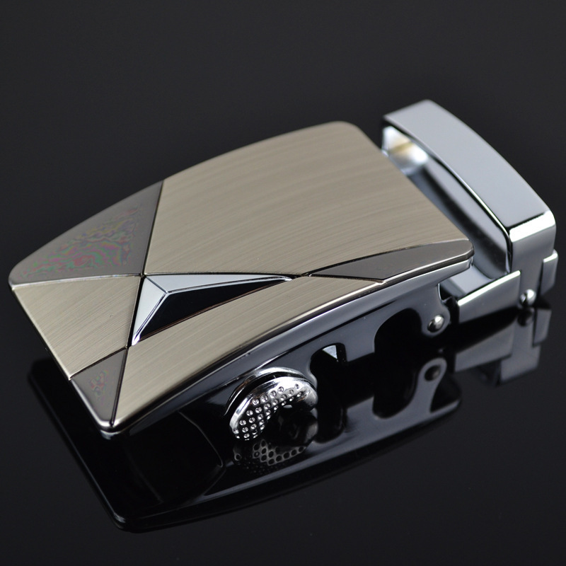 Men's Business Alloy Automatic Buckle Unique Men Plaque Belt Buckles 3.5cm Ratchet Men Apparel Accessories Designer Belt LY18687