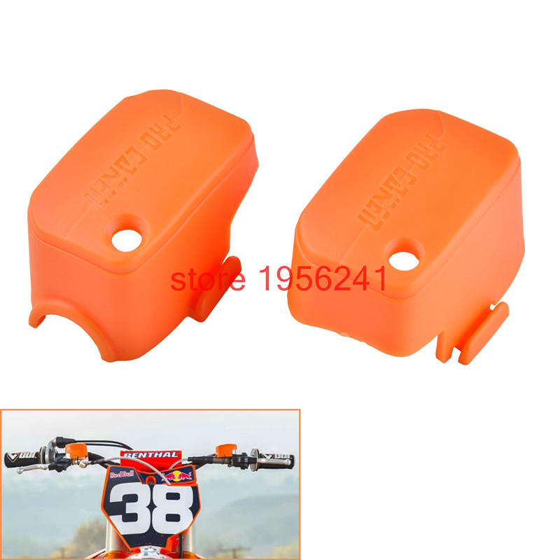 NICECNC Plastic Master Cylinder Cover For KTM 125 200 250 300 350 400 450 500 525 530 SX SXF XC XCF XCW XCF-W EXC EXC-F SMR XCRW motorcycle front rider seat leather cover for ktm 125 200 390 duke