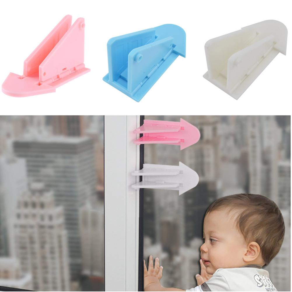 Kidlove 1pcs Child Lock Protection Of Children Locking Doors For Children's Safety Kids Safety Plastic Protection Safety Lock