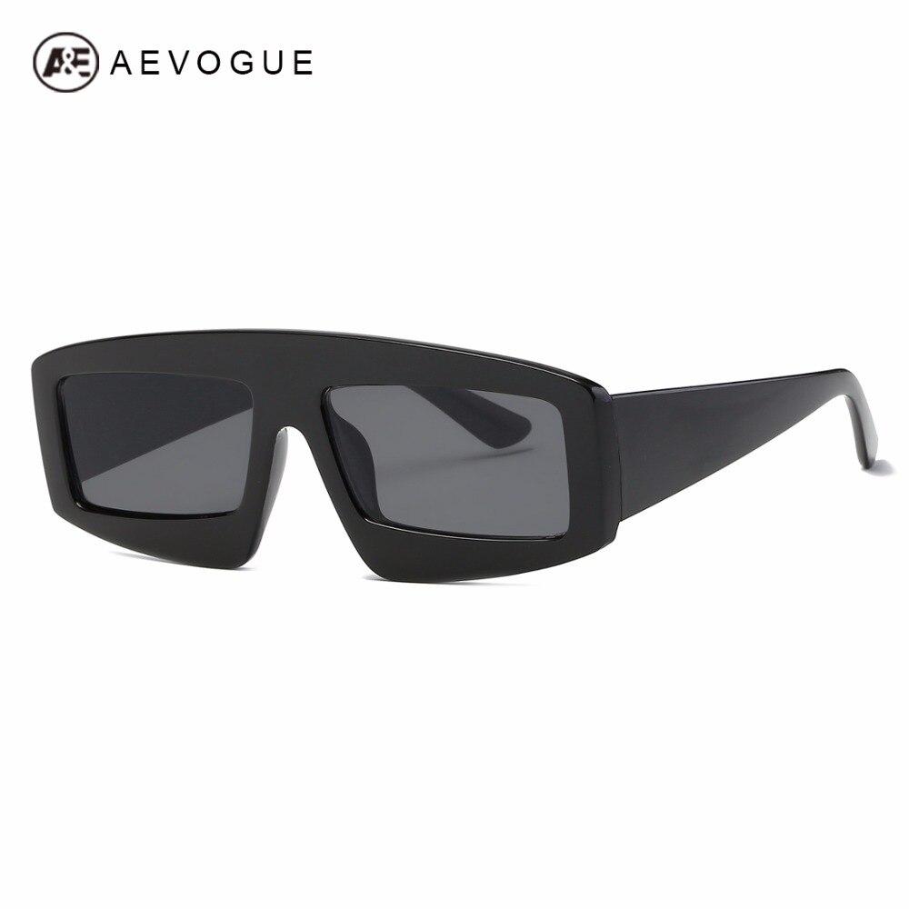 AEVOGUE Sonnenbrille Frauen Kühlen Übergroßen Quadratischen Rahmen ...