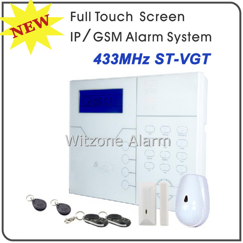 2016 Hot Network Alarm TCP/IP GSM Burglar Alarm System Home Alarm System Android IOS APP Control, Touchkeypad and RFID Tag Swipe турбофильтр aqua el 2000 внутренний до 2000л ч