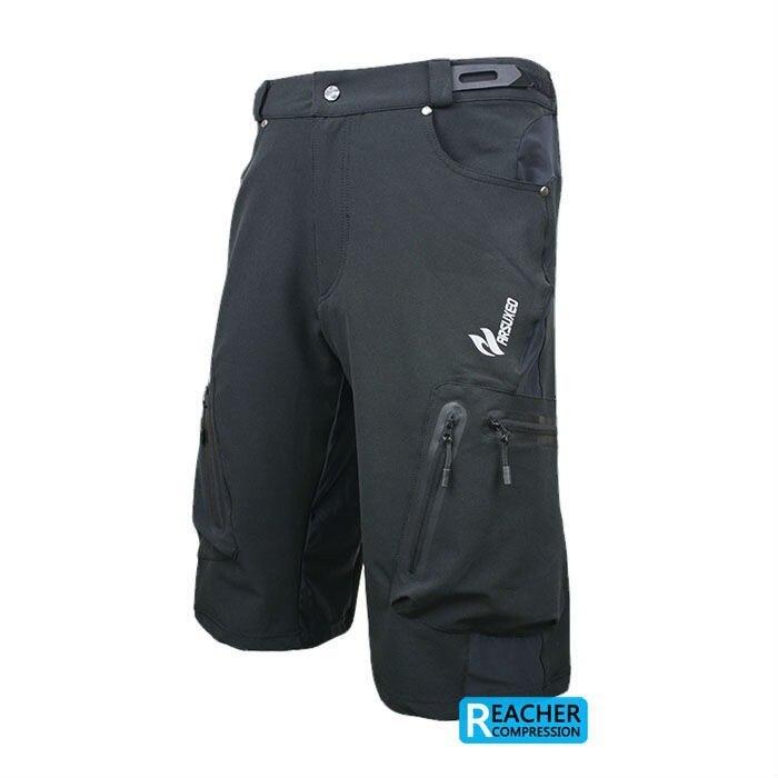Men MTB Downhill Mountain Shorts Wear Sportswear Trousers Lycra