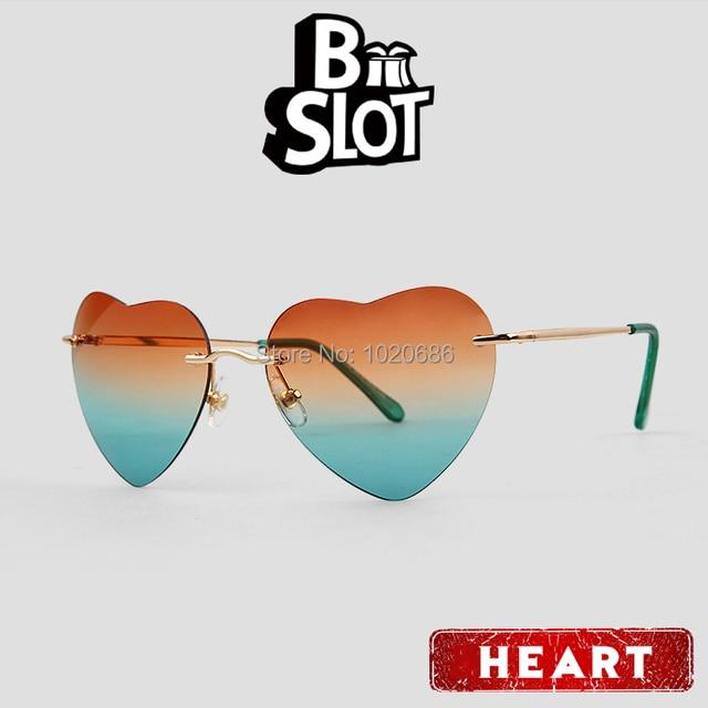575175f9548e New Fashion Loved Glasses Women Designer Sunglasses Retro Heart Shaped  Frame Fancy Party Funny Sunglasses Men Aviator Eyewear