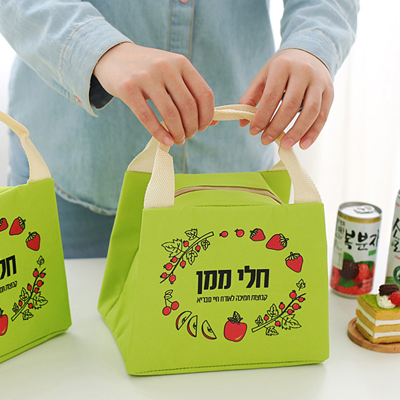 GOWINLIN Thermo Cooler Bag Refrigerator Thermal Insulated Lunch Bags Picnic Food Fruit Fresh Keeping ice box Freezer icepack