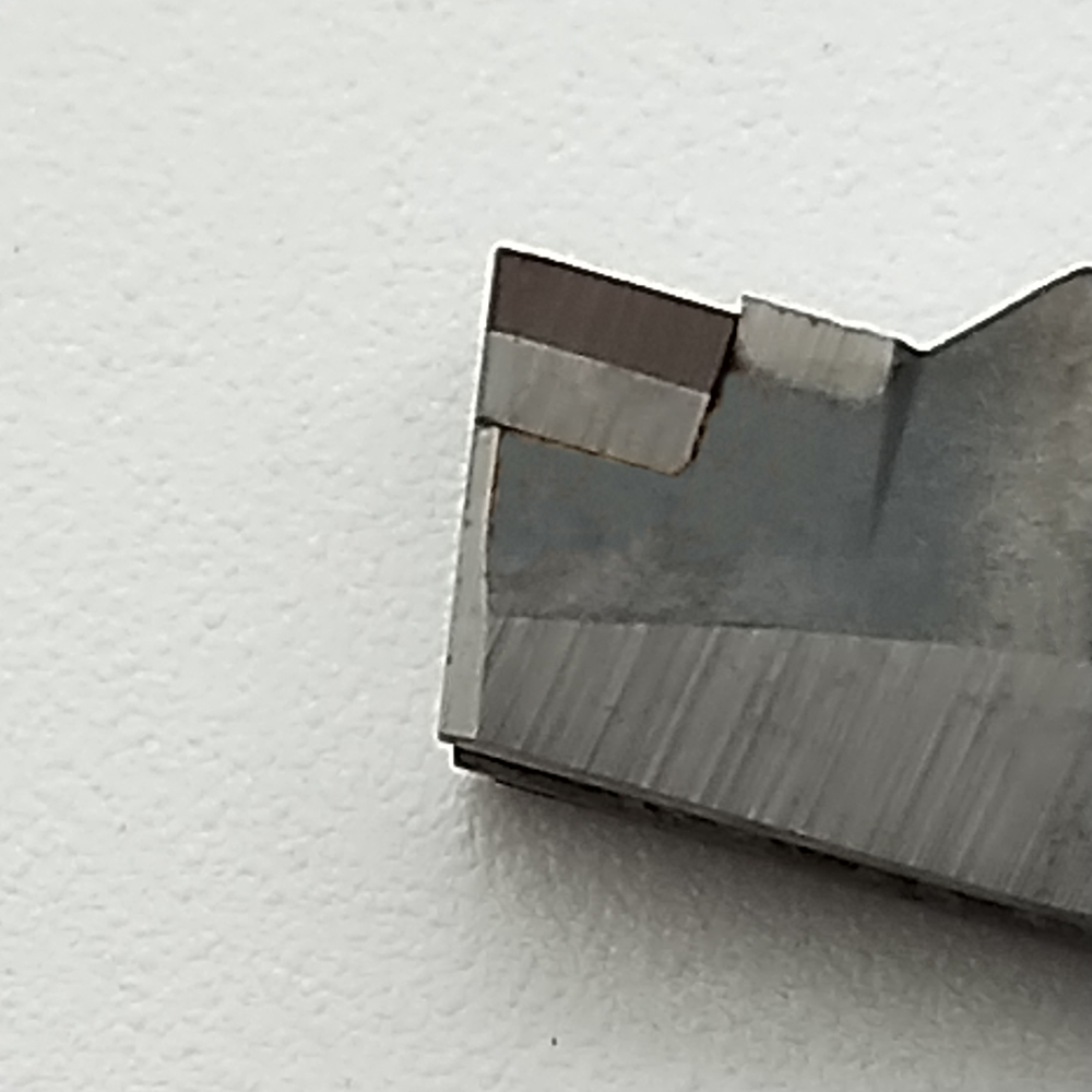 2PCS MGMN200/300/400/500 PCD CBN Insert Solid Diamond Cutting Tool Tipped High cost performance