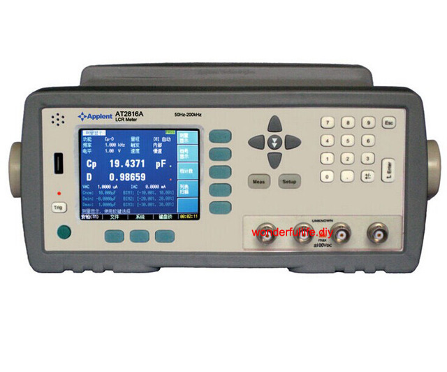 New Original AT2816A Digital LCR Meter Wide Frequency Range 50Hz-200 kHz