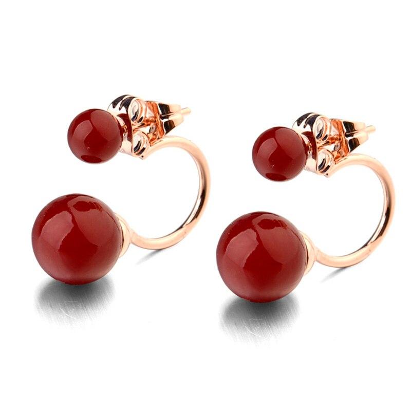 Aliexpress.com : Buy Two wear way pearl stund earrings ...