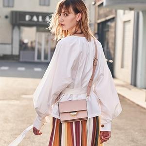 Image 5 - LACATTURA Women Shoulder Small Bag 2019 Luxury Designer Handbags Ladies Messenger Organ Bags Fashion Crossbody for Women 3 Color