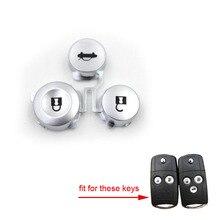 Пульт дистанционного ключа FOB 2& 3 кнопки Pad комплект Замена для Honda Accord CRV Civic HRV