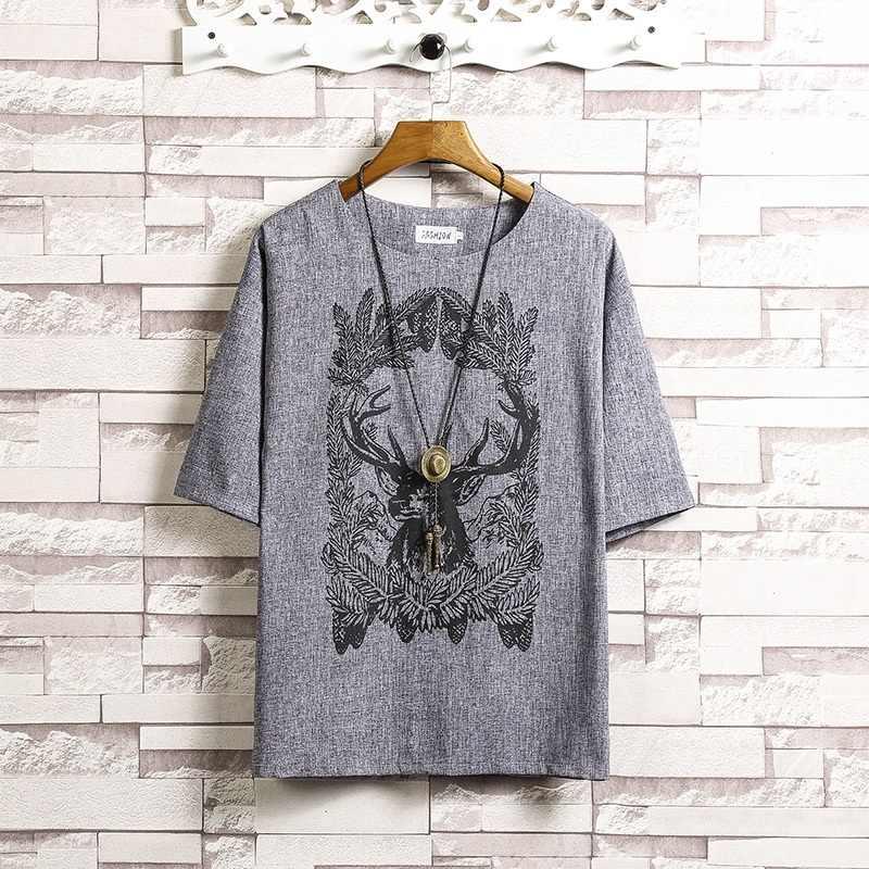 Camisa de lino con cuello mandarín para hombre, ropa para hombre 2018, ropa oriental para hombre, camisa tradicional china TA345