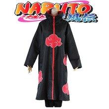 615df340890ec Anime Naruto Cosplay Akatsuki capa con capucha Naruto Uchiha Itachi Cosplay