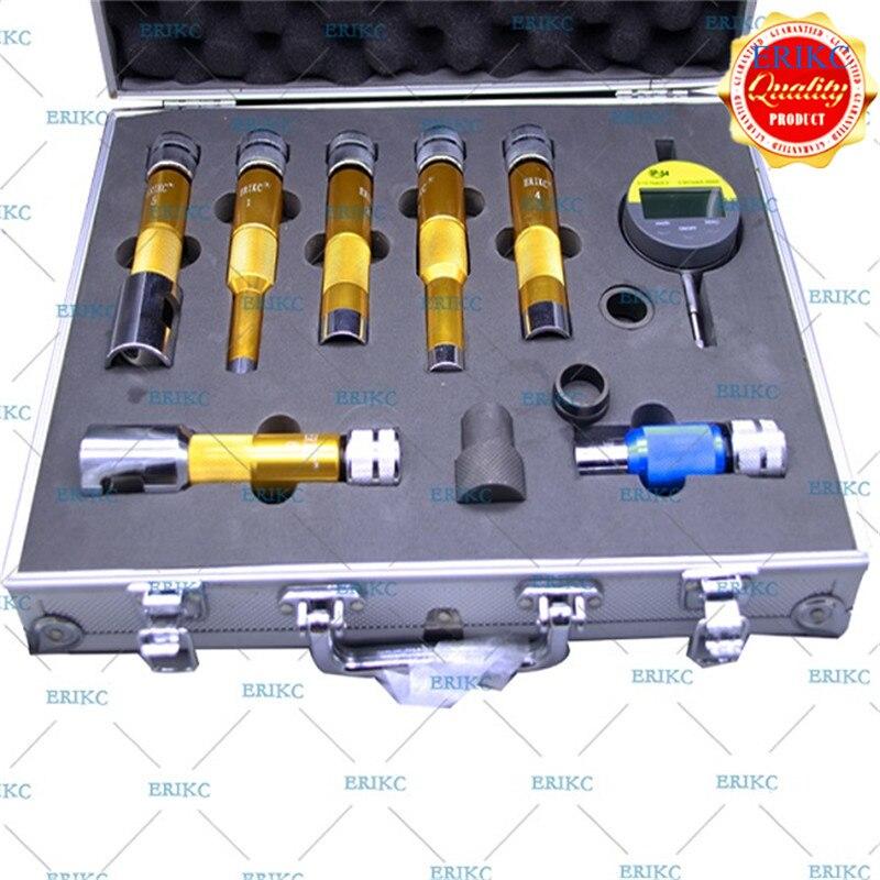 ERIKC прокладки Лифт измерения инструмент E1024007 Common Rail инструмент CR инжектор Многофункциональный Тесты комплект для toyota