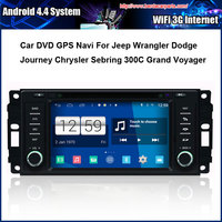 Car DVD GPS Player FOR Chrysler Sebring Dodge Jeep With GPS Radio Bluetooth 1G CPU Free