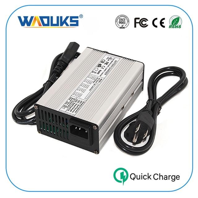 54.6V 3A Smart Lithium Batterij Lader Voor 48V Elektrische Scooter Fiets ebike Rolstoel Li-Ion Batterij Oplader