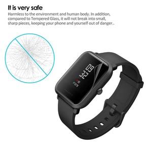 Image 5 - 5個amazfitビット超薄型antiexplosion tpuスクリーンプロテクターxiaomi huami amazfit bipペースliteユーススマート腕時計