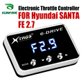Auto Elektronische Drossel Controller Racing Gaspedal Potent Booster Für Hyundai SANTA FE 2,7 Tuning Teile Zubehör