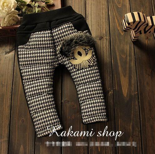 O envio gratuito de 2015 outono e inverno nova alta-grade de algodão do bebê calças do bebê do menino/menina calças cintura elástica calças crianças