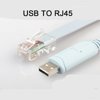 2018 new USB2.0 to CONSOLE Cable USB TO RJ45 CABLE for Reebok, huawei,JUNIPER, 3COM routers, switches debugging