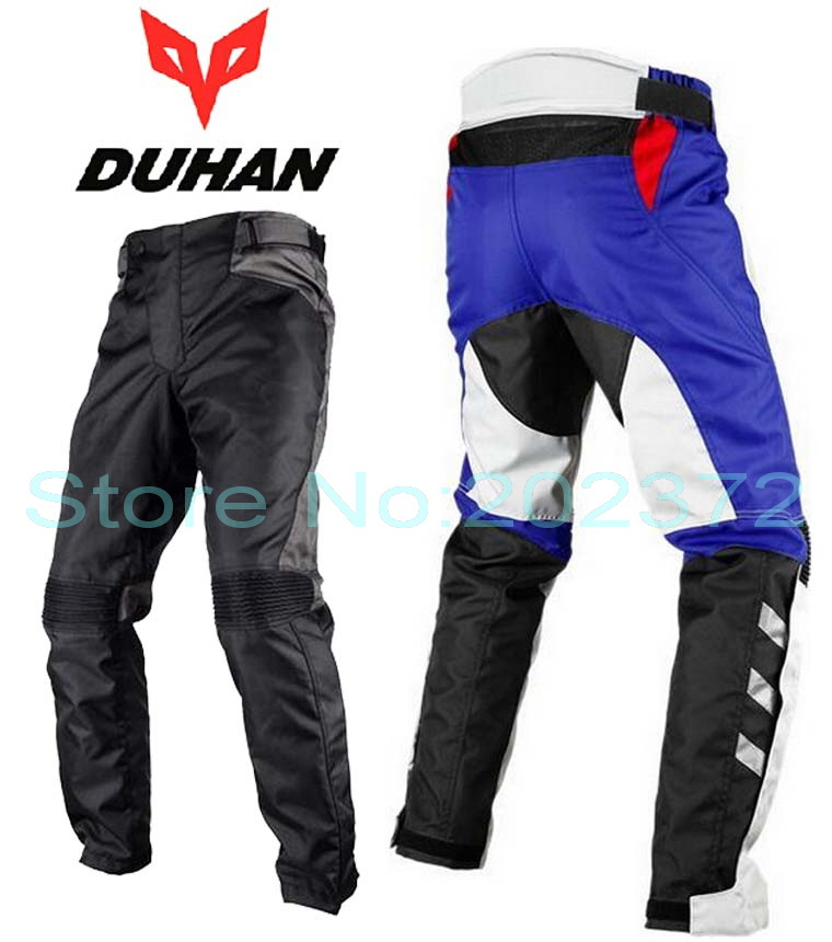2016 DUHAN motorcycle racing trousers knight riding pants male motocross motorcycle rally popular brands windproof pant DK015