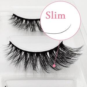 Image 4 - 100 คู่ขนตาปลอมขายส่งขนตาปลอมธรรมชาติMink Lashesแต่งหน้าขนตาปลอมขายส่งขนตาชุด