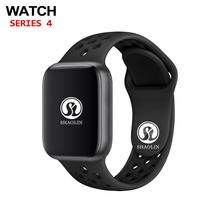 Sport Smart Watch Men Series 4 Heart Rate Bluetooth Smartwatch Fitness Tracker for Apple Watch iphone X IOS Android phone 42mm bluetooth watch smart gps smartwatch mtk2503 passometer heart rate fitness tracker compass men sport watch for ios android phone