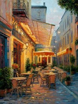 14/16/18/27/28 Cafe Van Gogh Scenery Needlework Embroidery DIY DMC Arts Cross Stitch Kits Crafts Home Decor Handmade image