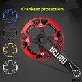 Защитная пластина на колесо цепи горного велосипеда, велосипедный кривошипник 104BCD, Защитная крышка с положительным отрицательным зубчатым...