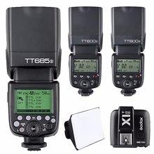 Godox TT685S HSS TTL GN60 Flash Speedlite + 2x TT600S + X1T-S Trigger for Sony