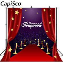Capisco geburtstag foto kulissen Rot teppich für VIP event stern kino decor hollywood party hintergrund photo fotografie(China)