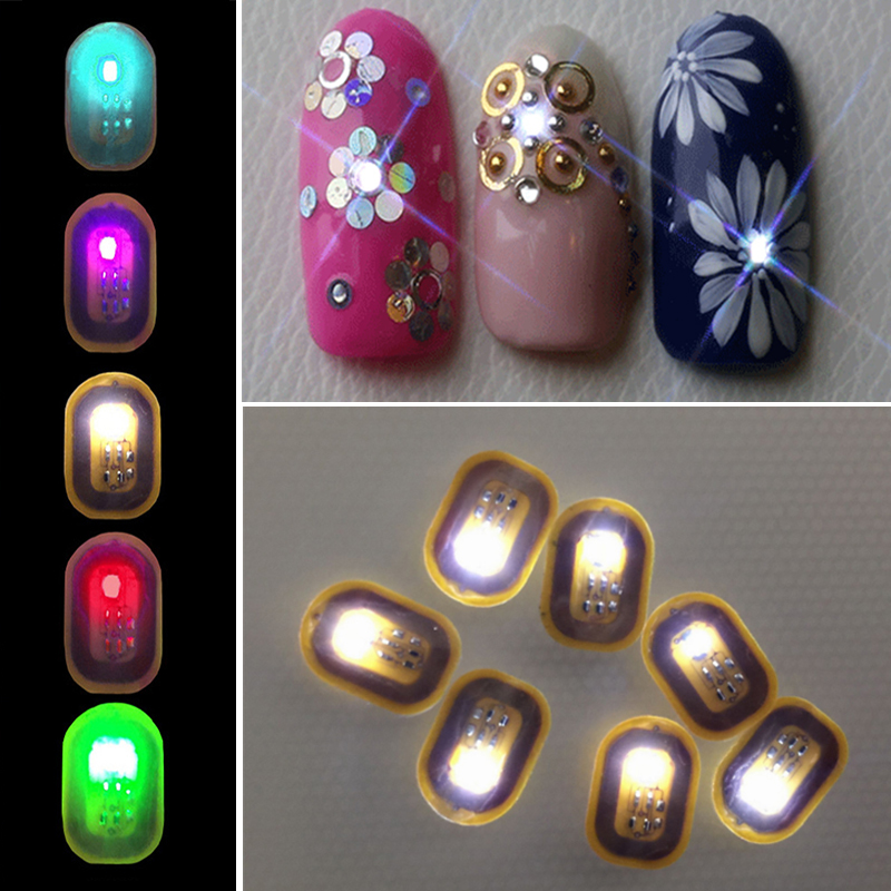New Design NFC Intelligent Nail Sticker for Girls 3D Nail and Phone ...