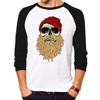 Hot Sale Mens T Shirts Fashion Skull 3d T Shirt Men Hip Hop Men T Shirt