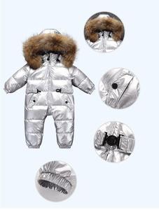 Image 3 - Combinaison dhiver pour bébés, nouveau né, vêtements chauds pour bébés, combinaison de neige pour tout petits, combinaison dhiver pour garçons, 803