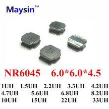 NR6045 6,0*6,0*4,5 1UH 1.5UH 2.2UH 3.3UH 4.7UH 5.6UH 6.8UH 8.2UH 10UH 15UH 22UH 33UH 20%