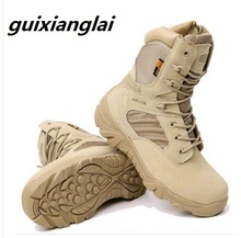 Army Work Shoes Leather Snow Boots Winter Autumn Men Military Boots Quality Special Force Tactical Desert Combat Ankle Boats 2017 winter men military army boots autumn special force tactical desert combat boats leather snow boots shoes mens
