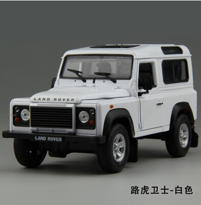 hot sale defender 124 welly car model suv metal diecast jurassic park kids toy boy collection classic cars christmas gift
