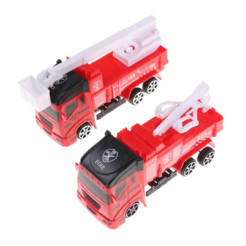 Children's Vehicles Toys Mini Fireman Toy Fire Truck Car Boy Educational Toy Christmas Birthday Gifts image