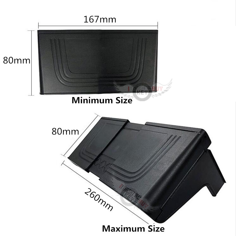 Image 3 - 2019 New Car Navigation Sun Visor Light Board GPS Navigation Paste Hood Display Sunscreen Accessories Universal Self adhesive-in Furniture Frames from Furniture