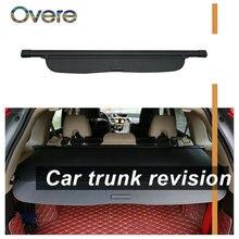 Overe 1 комплект Черная защитная накладка на багажник автомобиля