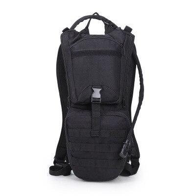 Sac de cyclisme, sac à dos grande bouche liner 3L sac à eau, sac à dos de sport de camouflage en plein air.