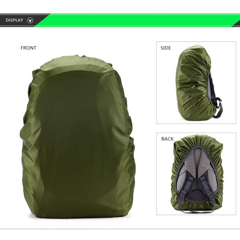 45L In Nylon Leggero di Acqua-resistente Impermeabile Zaino Copertura Della Pioggia Impermeabile Per Il Campeggio Viaggi Escursioni All'aperto 35 45 55 70 80L