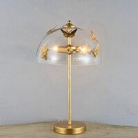 Настольная лампа роскошный прикроватная лампы для Спальня Гостиная украшение ночник Спальня фонари декоративные настольные лампы