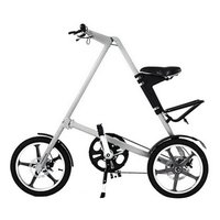 14 / 16 inch Universal Folding Bicycle Aluminum Alloy Bike Wheels Portable Bicycle Scooter For Kids Adults Red and White New