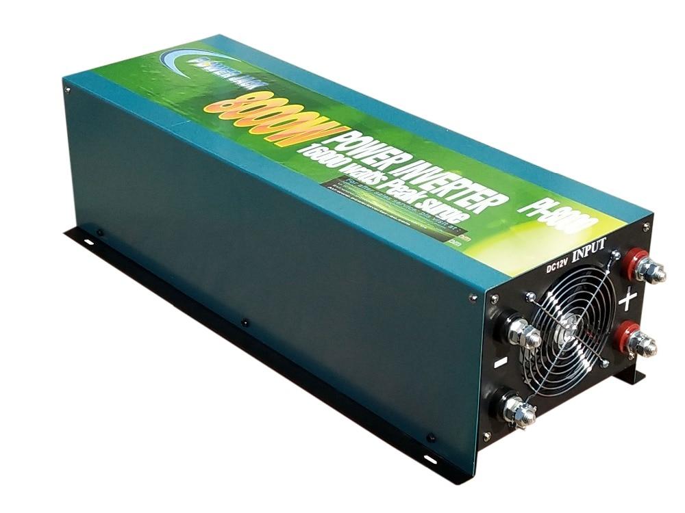 16000W MAX 8000W Modified Sine Wave Power Inverter Converter 12V DC//110V AC 60Hz