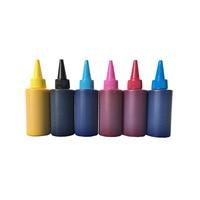 6X100 ML Textil Tinte Für Epson flated drucker LCx1 LMx1 Kx1 Cx1 Mx1 Yx1 Für Baumwolle T shirt tuch druck|ink for epson|textile inktextile ink epson -