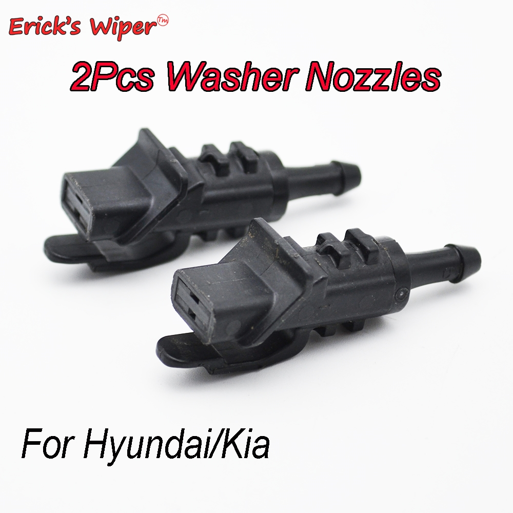 Форсунка для мытья лобового стекла Ericks Wiper, 2 шт., для Hyundai i30 MK1 2007-2012 OE #98630-2L100 98630 2L100