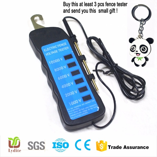 Homemade Electric Fence Tester For Solar Fence Charger Made In China