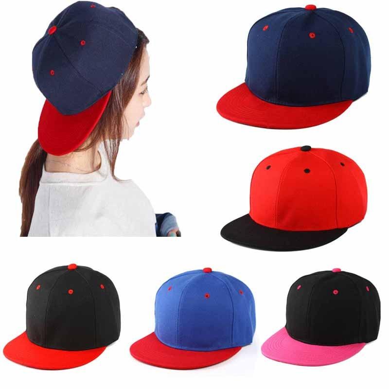 Outdoor Hip-Hop Hat Tennis Cap Adjustable Snapback Sports Cap Unisex Sticker Cool